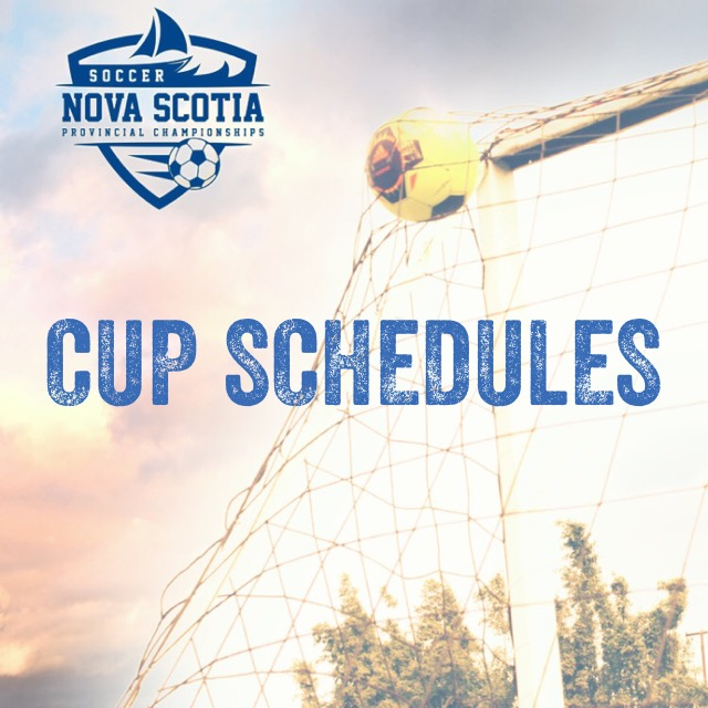 2019 Cup Schedules